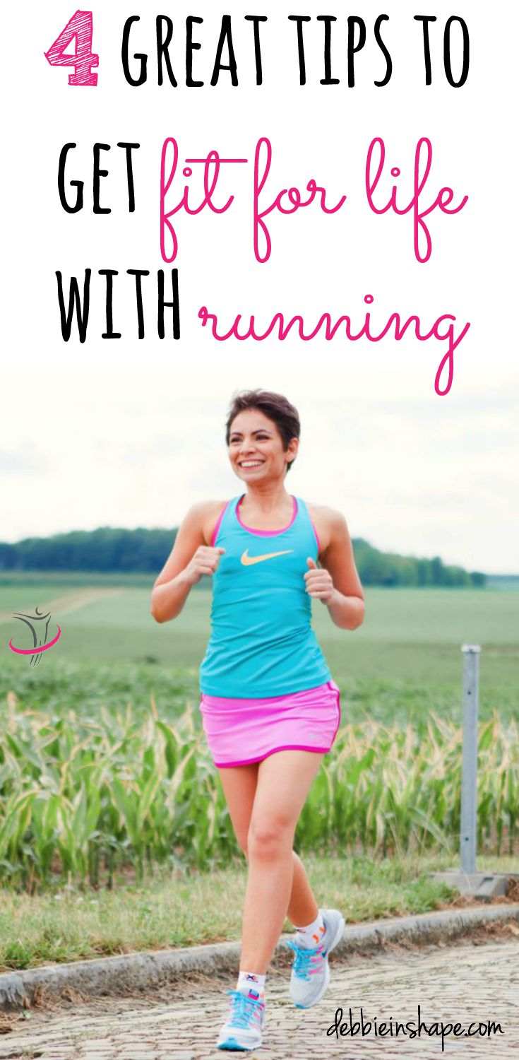 4 Great Tips To Get Fit For Life With Running.
