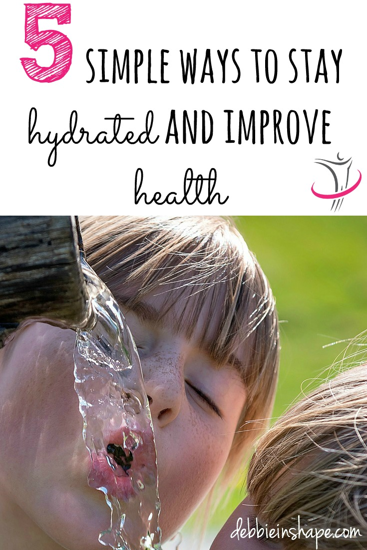5 Simple Ways to Stay Hydrated and Improve Health