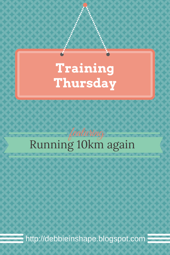Training Thursday : Running 10km again