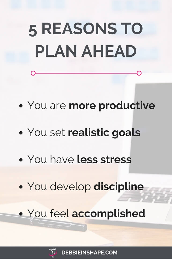 Looking for motivation to start planning ahead? I have 5 reasons you can't deny.
