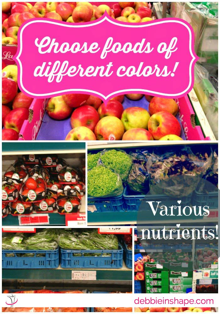 Choose Foods of Different Colors!