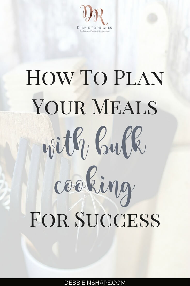 Planning is also your best friend when it comes to your intake. Bulk cooking is the best way to stay on track without added stress. Come to the 52-Week Challenge For A More Productive You today and get all the support you need to be successful with your Goals. #productivity #confidence #success #weightloss #mealplanning