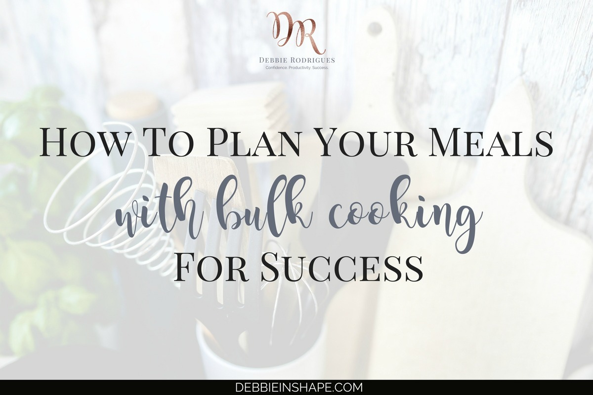 How To Plan Your Meals With Bulk Cooking For Success