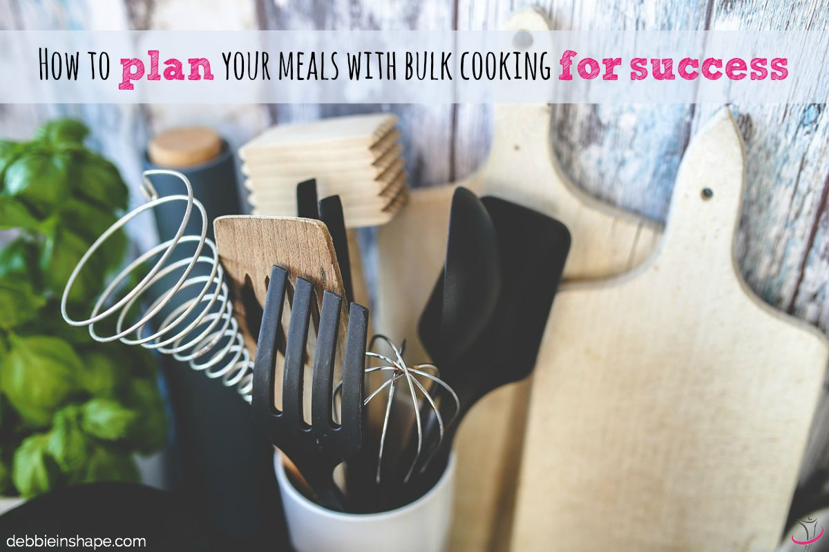 How to Plan Your Meals with Bulk Cooking for Success.