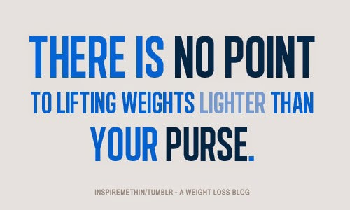 """There is no point to lifting weights lighter than your purse."" Women can and should lift heavy without worrying they will look like men."