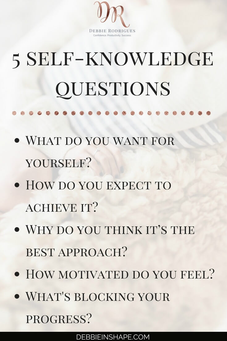 How to know yourself better to be more confident and successful. Learn how you can create space in your schedule and overcome procrastination to achieve your goals. Join the 52-Week Challenge For A More Productive You and get all the support and motivation you need to become a better version of yourself without stress. #productivity #confidence #success #lifestyle
