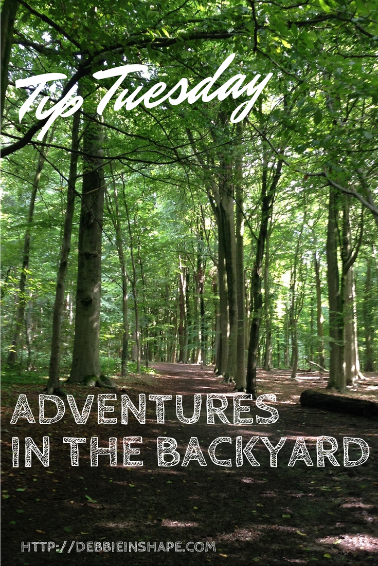Tip Tuesday: Adventures in the Backyard
