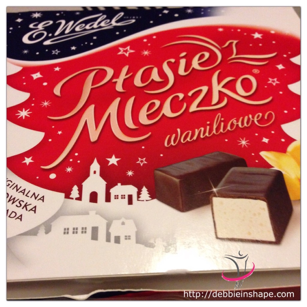 The incredibly delicious Ptasie Mleczko. Even though there is nothing like Belgian chocolate, this Polish temptation is simply irresistible.