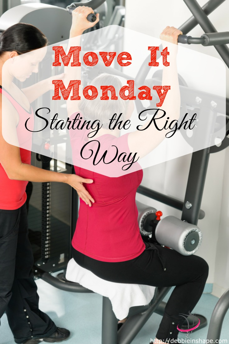 Move It Monday : Starting The Right Way
