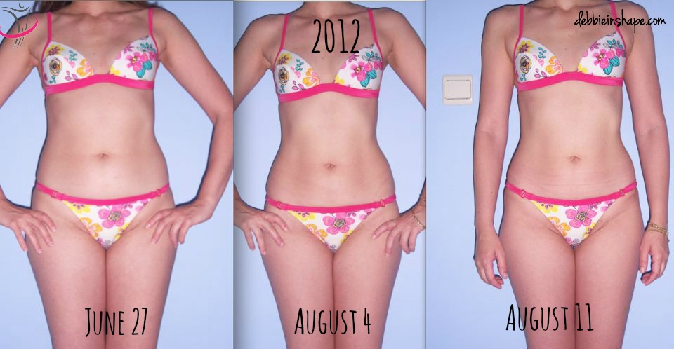 Progress pictures from my very first contest prep in 2012 after being diagnosed with brain tumor.