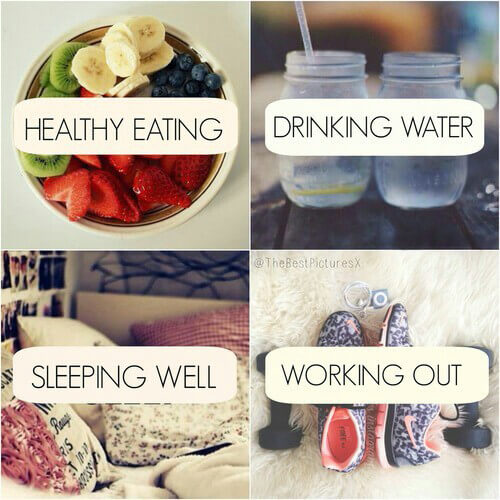 Wellness is about health inside out.