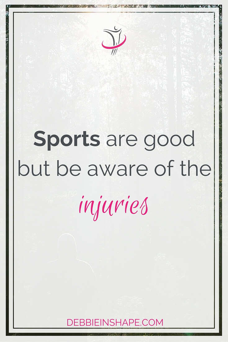 Sports Are Good But Be Aware Of The Injuries.