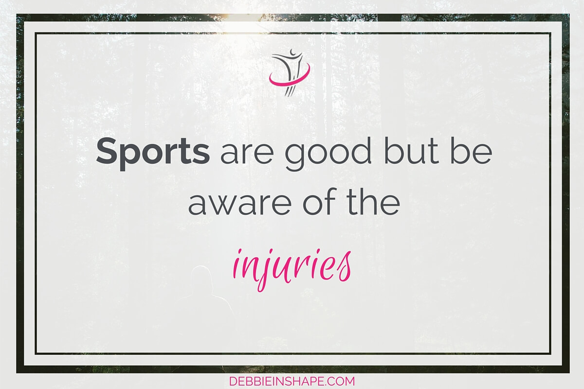 Sports Are Good But Be Aware Of The Injuries