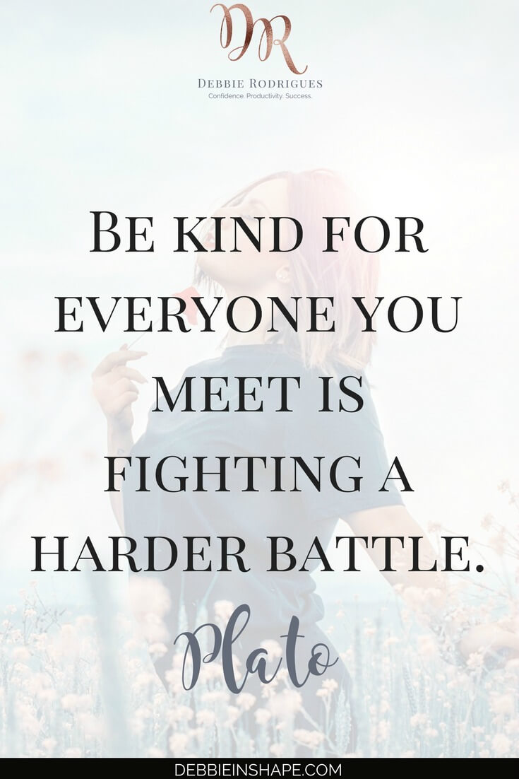 How to be kind to those around for a better world. Discover it on the blog. Come to the 52-Week Challenge For A More Productive You and find out how to manage schedule for motivation and fulfillment. #productivity #confidence #success #journaling #kindness