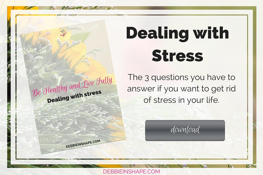 Download today the 3 questions you have to answer if you want to get rid of stress in your life.