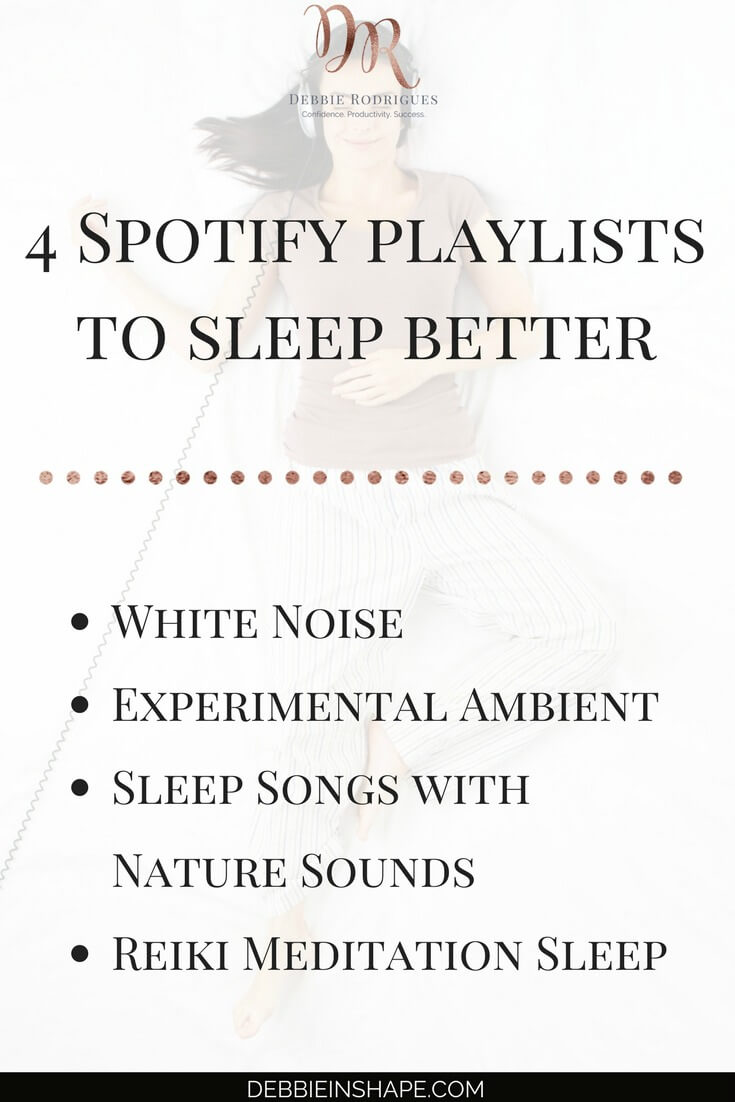 Discover how to unwind and sleep better with these playlists. Recover better and have more energy to create space in your schedule for the things you love. Join the 52-Week Challenge For A More Productive You for accountability, support, and motivation. #productivity #confidence #success #lifestyle #health #wellness
