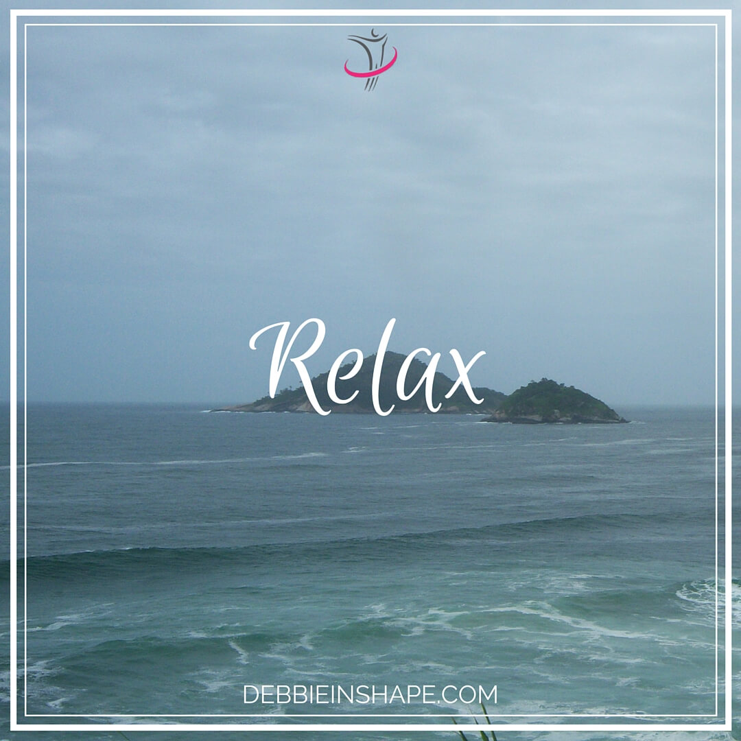 Relax. And if you need some help, listen to some Reiki healing music.