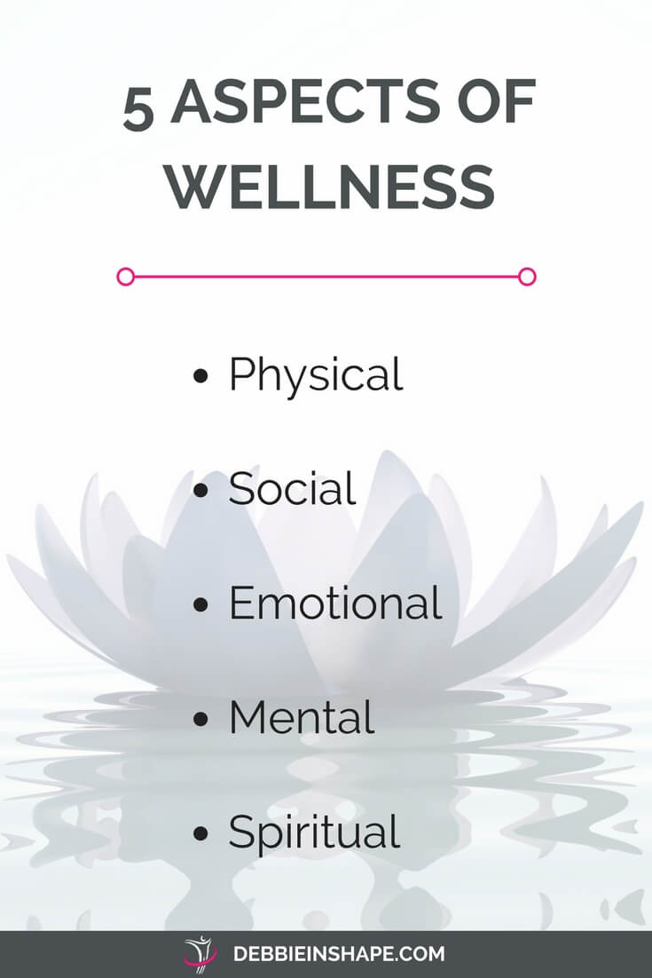 Learn the importance of the 5 aspects of wellness and grab the Better You workbook.