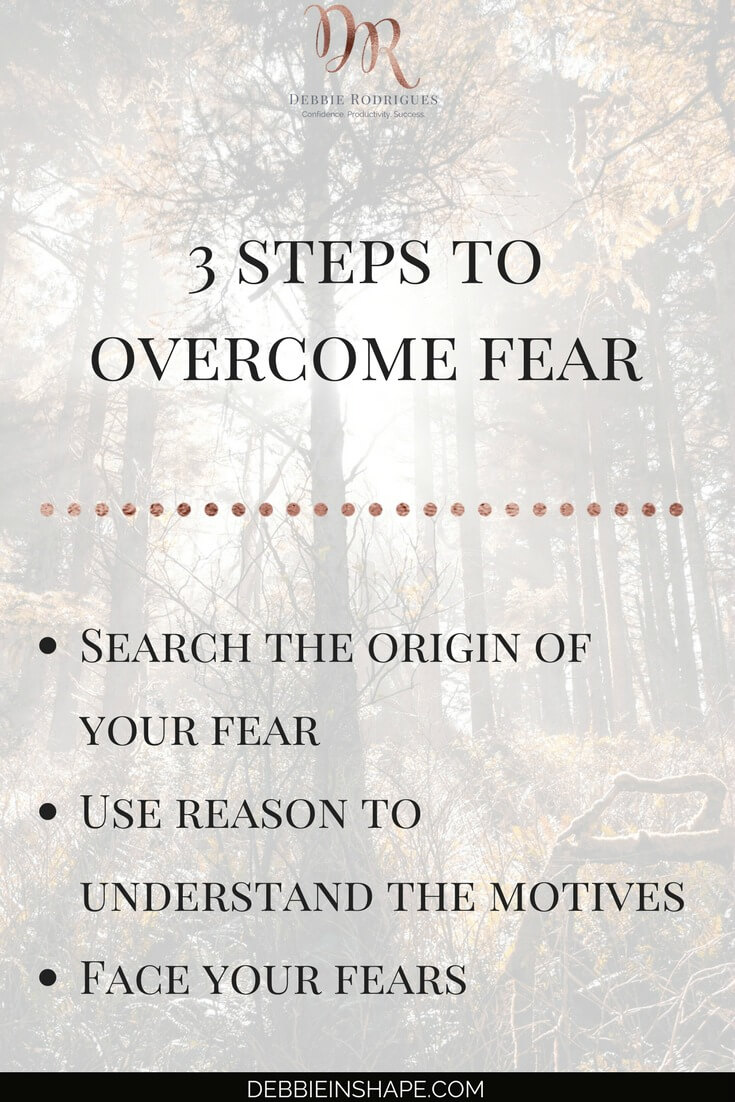 How to overcome fear in 3 steps. Learn how to apply the roadmap to self-esteem and success one day at a time to achieve your goals with confidence. #productivity #confidence #success #journaling #mentalhealth