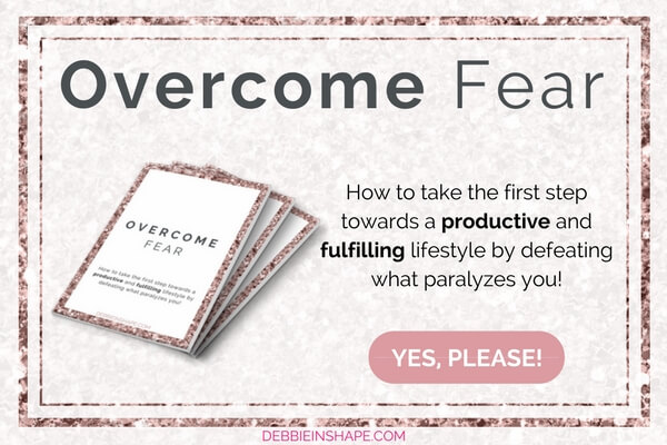 How to take the first step towards a productive and fulfilling lifestyle by defeating what paralyzes you! Grab your FREE copy of the workbook Overcome Fear today.