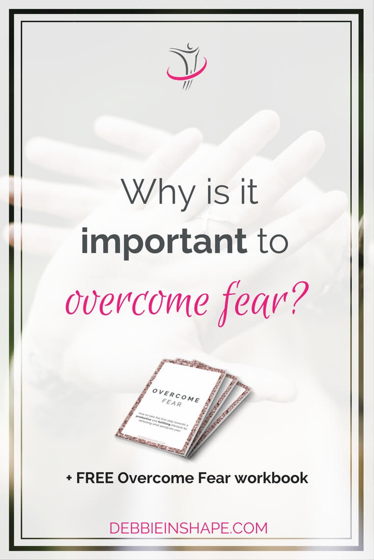 It's normal to feel fear, but we cannot allow it to control us. Learn how you can regain your self-esteem, become more productive, and develop a fulfilling lifestyle by overcoming your fears. Grab the workbook Overcome Fear for FREE on the blog and start changing your mindset.