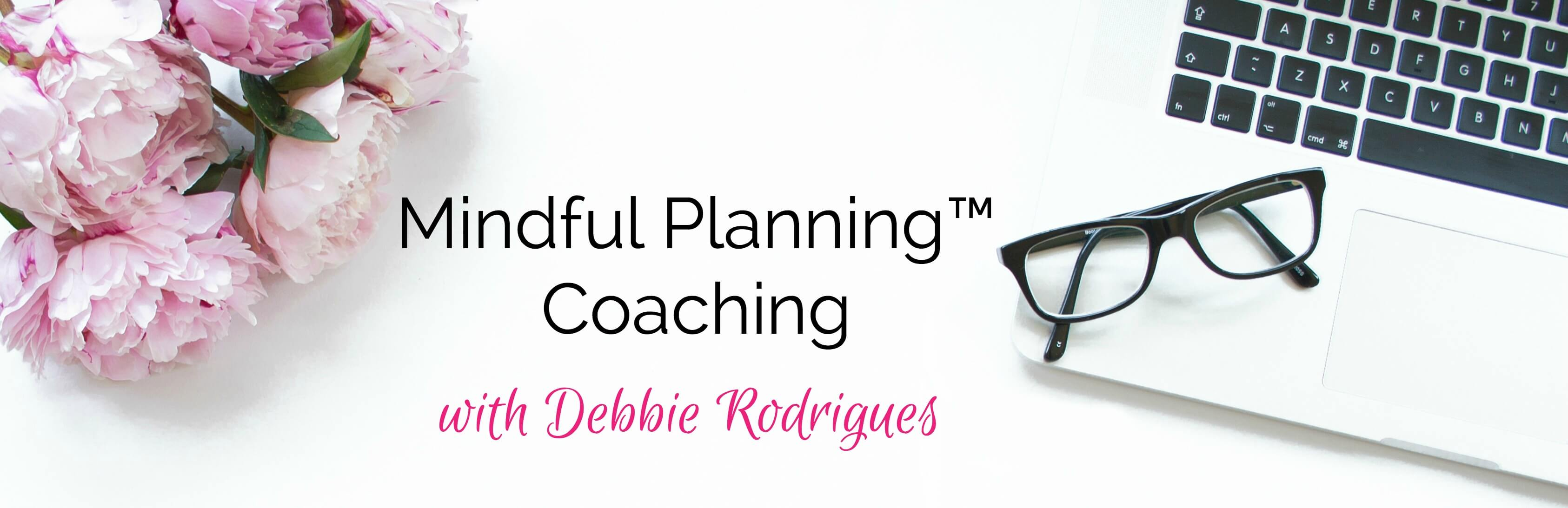 Get clarity about your goals, solve your efficiency struggles, and become more productive with Mindful Planning™.