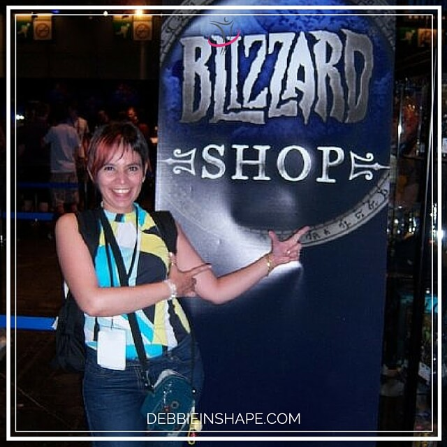 Me at the Blizzard WWI Games 2008.