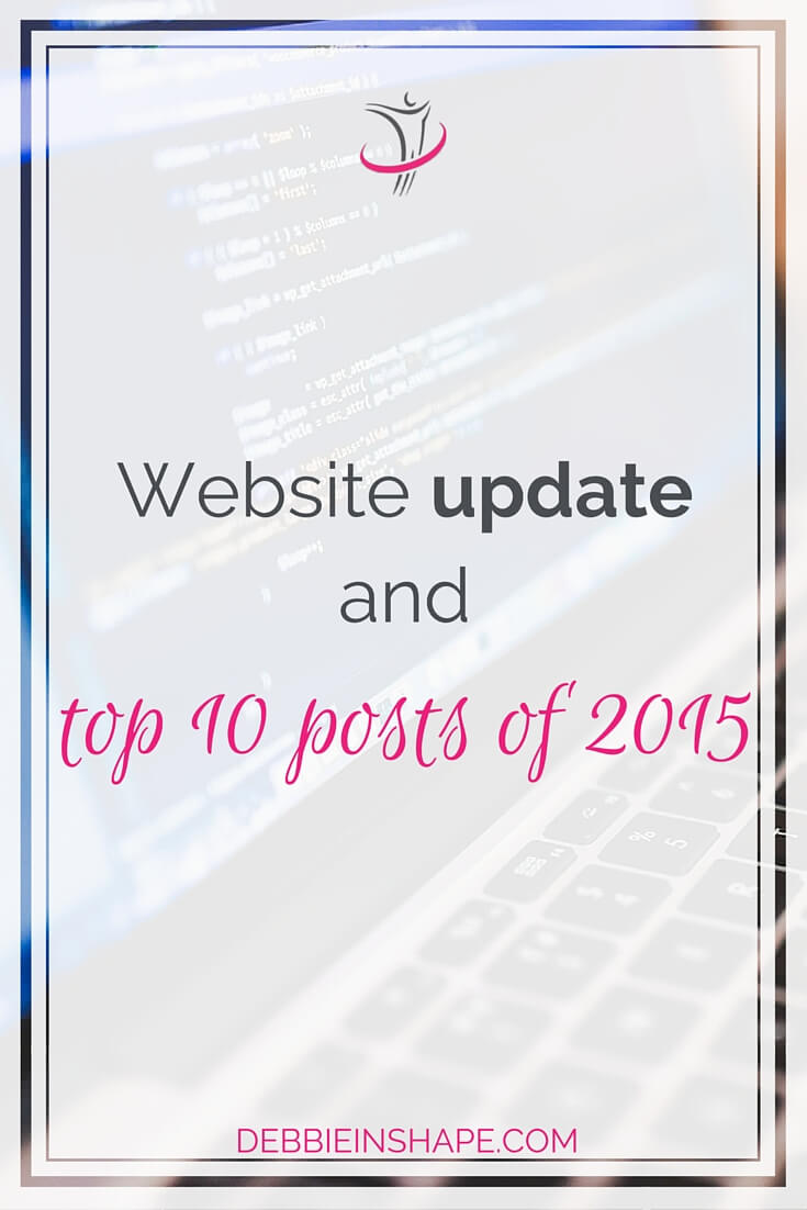 Website Update And Top 10 Posts Of 2015.