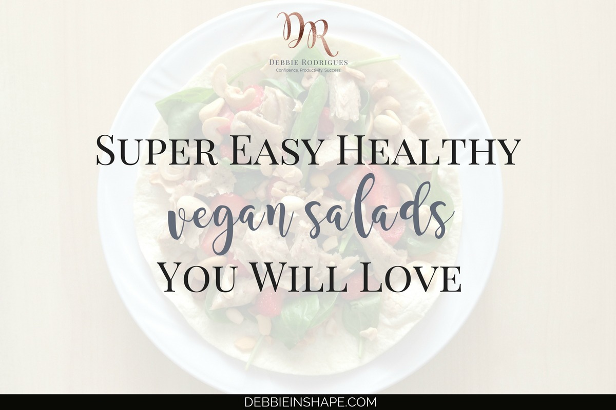 Super Easy Healthy Vegan Salads You Will Love