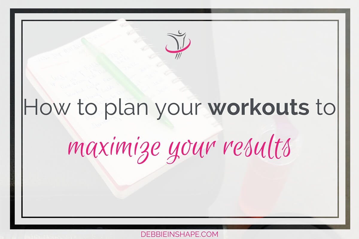 How To Plan Your Workouts To Maximize Your Results