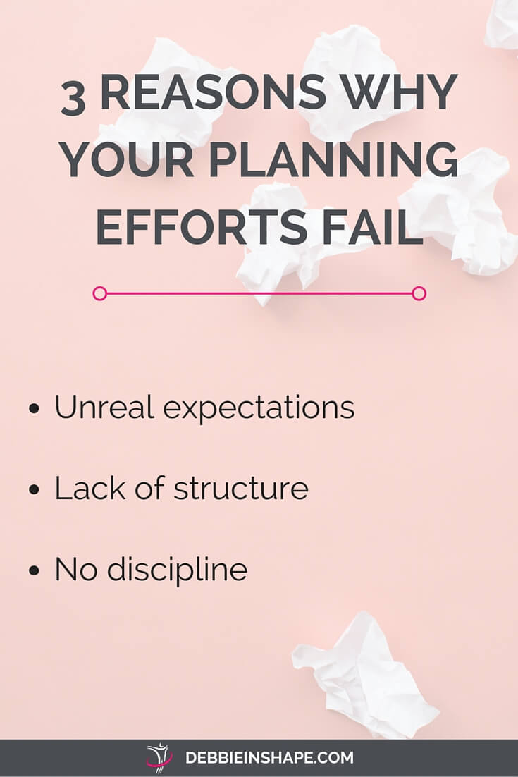 Discover how to overcome your planning blocks. Once you know what's holding you back, it's easier to overcome your challenges. And if you need a method to get started, subscribe to my FREE email course 5 Days To Mindful Planning today. #planning #productivity #confidence #success