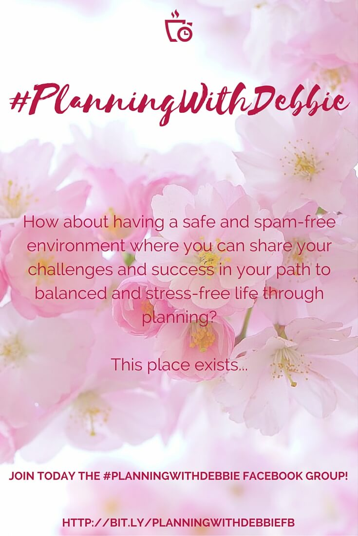 PlanningWithDebbie FB Group