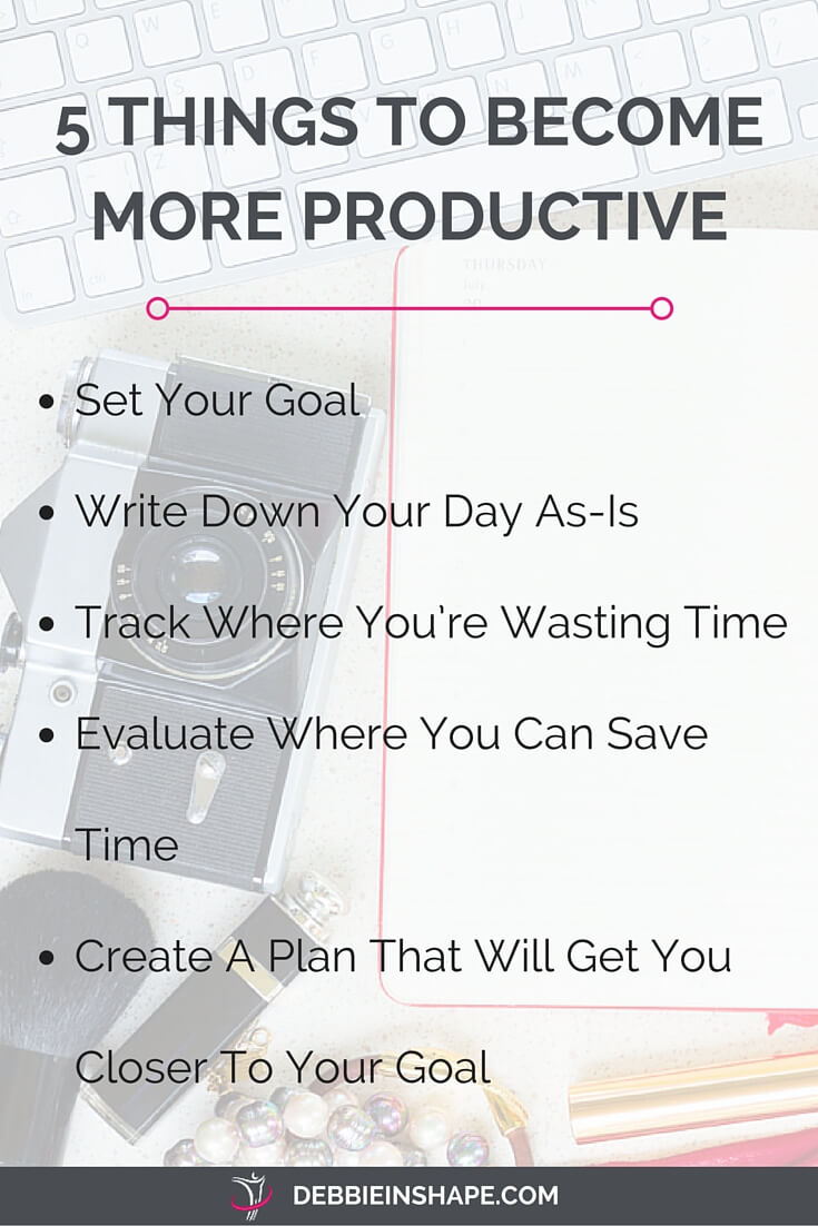 Who doesn't want to become more productive? And it's not a mission impossible as you may think. Check these 5 tips I have for you.
