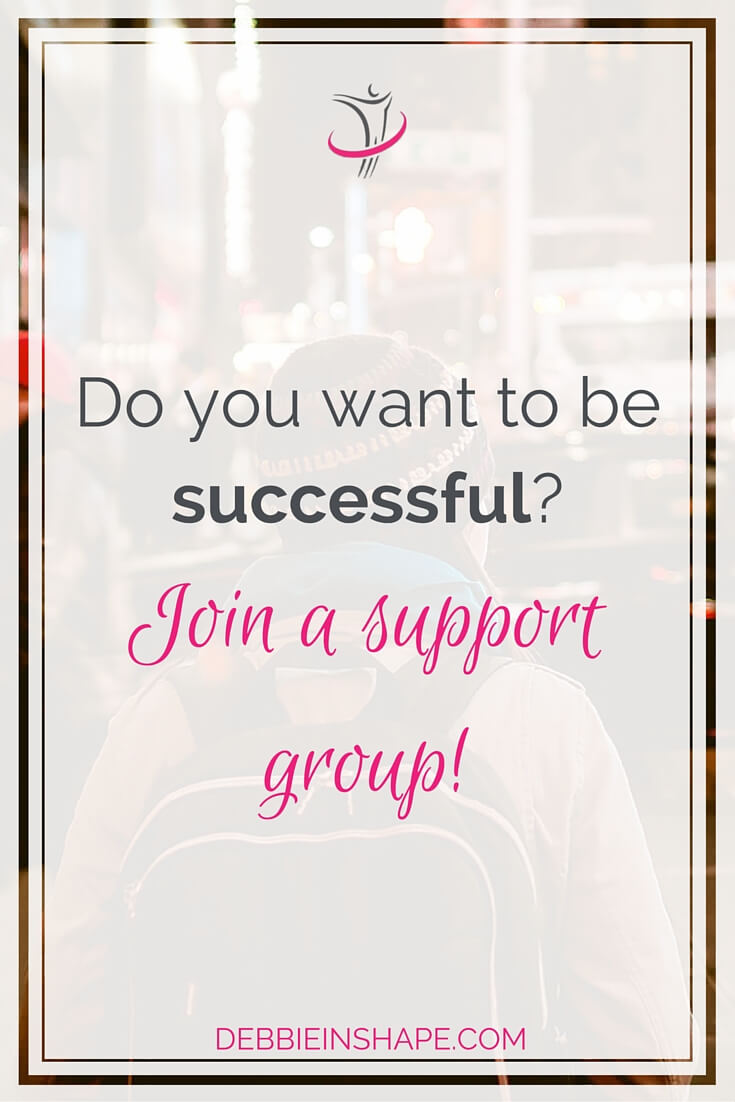 Do You Want To Be Successful? Join A Support Group!