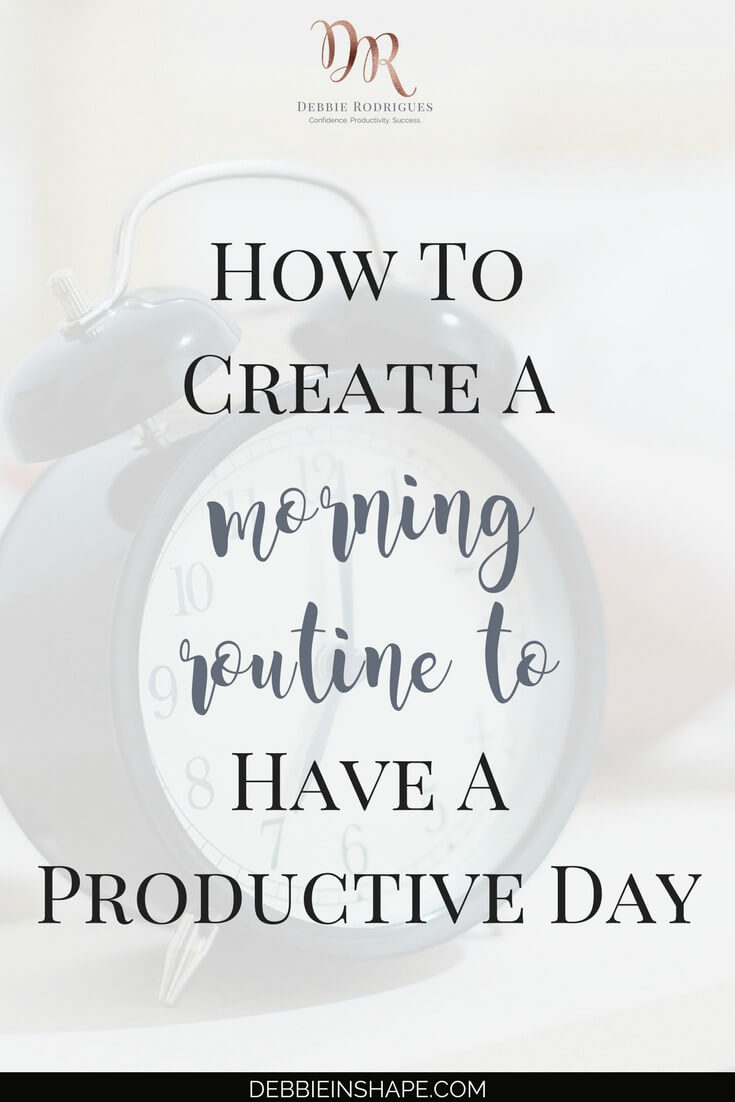 You don't have to be a morning person to create a productive morning routine. Set yourself to success with these 3 tips. Join my FREE VIP Tribe today and download my Morning Routine Checklist. Join other like-minded achievers for accountability, support, motivation, and exclusive tips and deals. #productivity #confidence #success #health #lifestyle