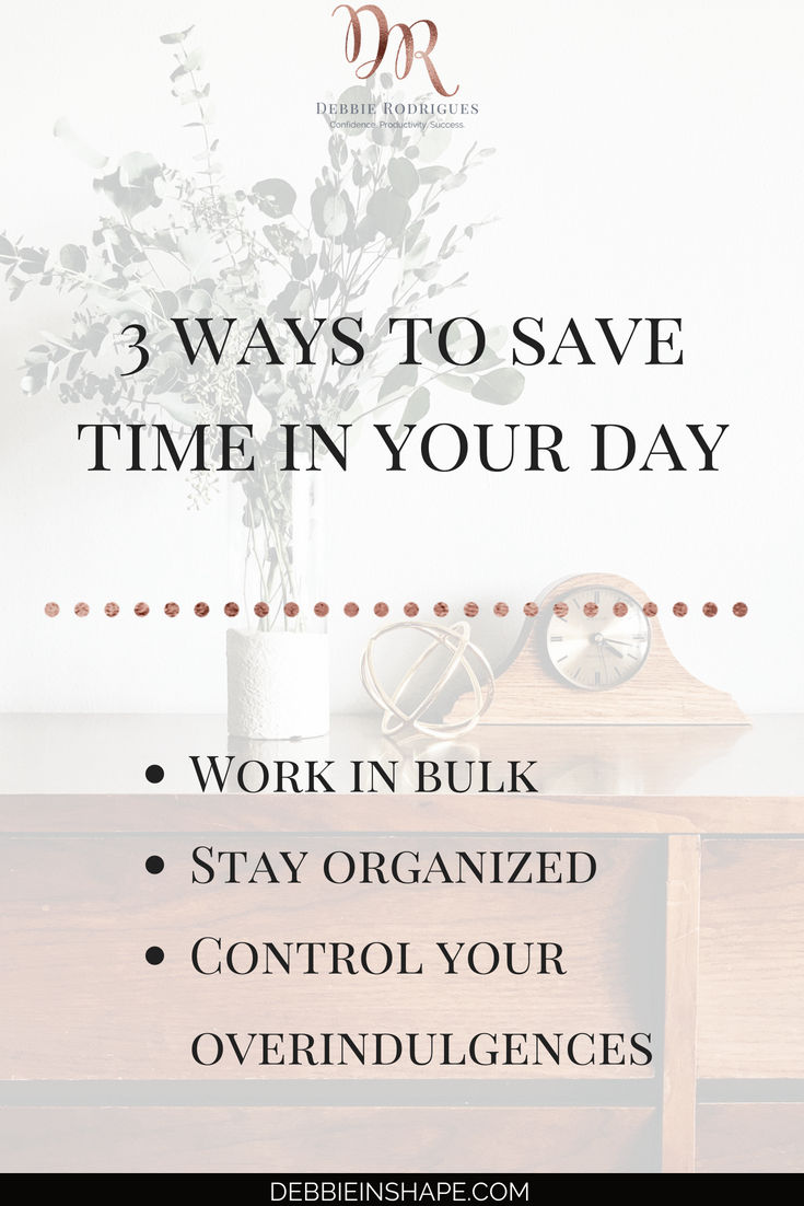 How to accomplish more today in 3 easy steps. Save time for the things that you love and that are meaningful to you. Join the 52-Week Challenge For A More Productive You and get all the support you need to succeed. #productivity #confidence #success #journaling #timemanagement