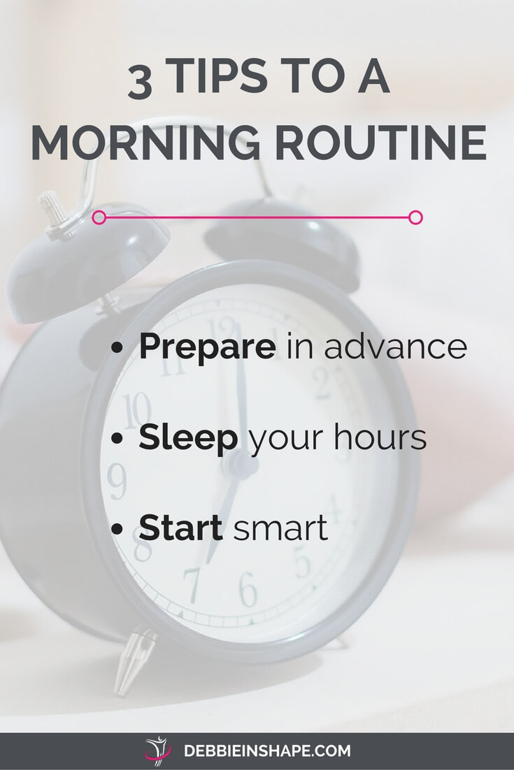 Whether or not you struggle with the first hours of the day, you can implement these 3 tips to set yourself for a productive morning routine.
