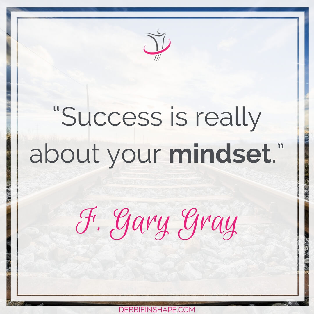 """Success is really about your mindset."" - F. Gary Gray"
