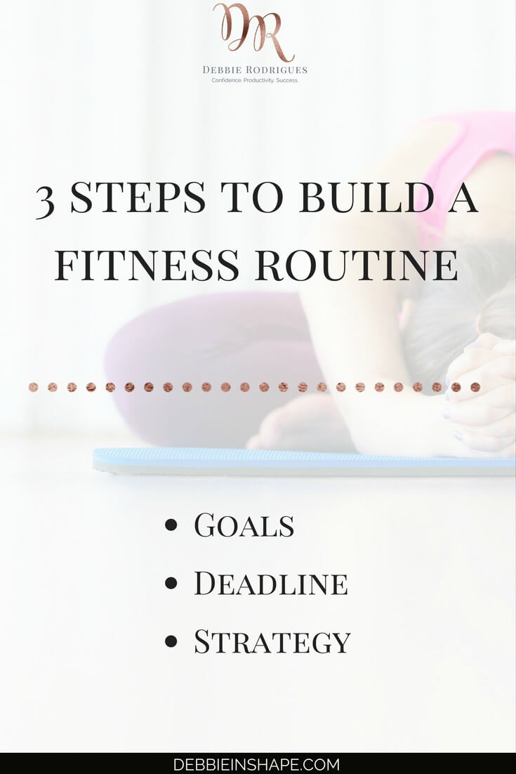 Everything you need to know to find time to workout. To improve your health and wellness, you need to add fitness to your routine. Start doing it with these 3 steps. And to make sure you stay on track, come on over to my FREE VIP Tribe. Download my time-tracking sheet on the blog and join a community of incredible achievers for accountability, support, and motivation. #productivity #confidence #success #fitness #health