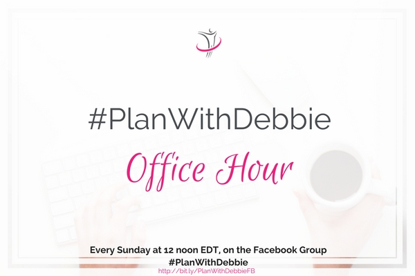 Plan With Debbie library