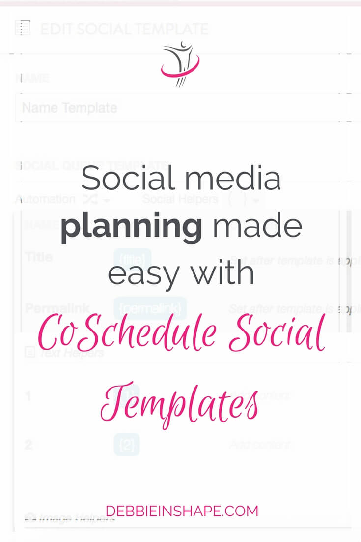 With CoSchedule Social Templates you save time planning your social shares and become a more productive blogger. Here's how.