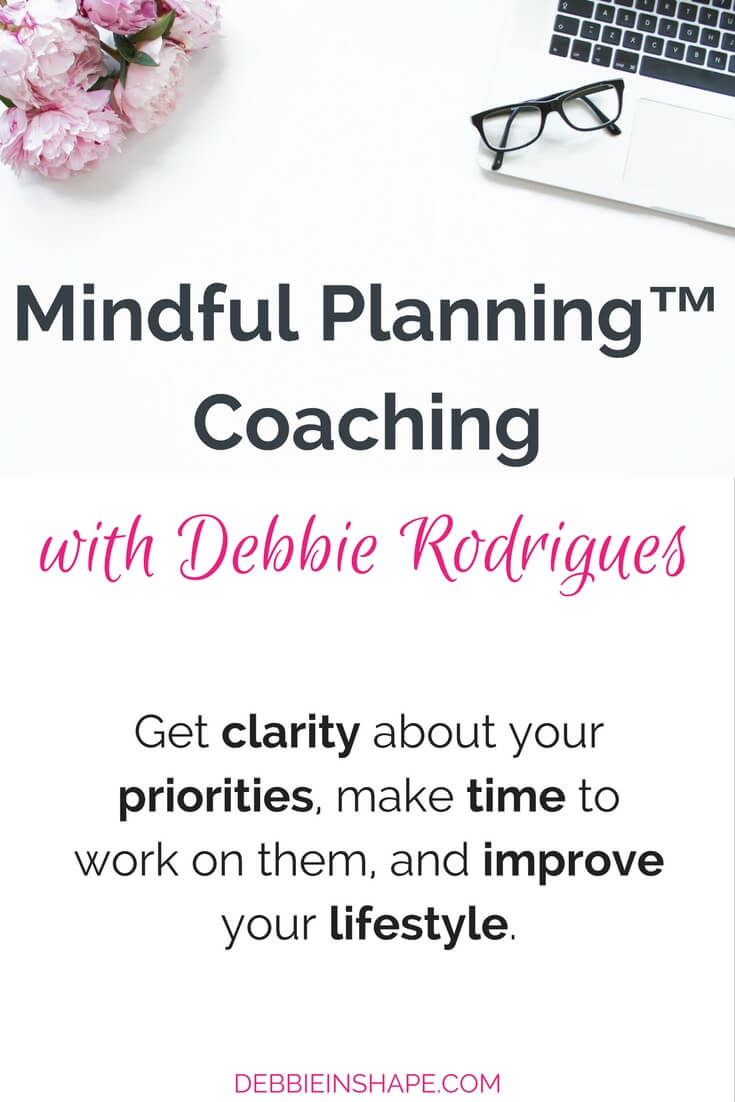 Get clarity about your priorities, make time to work on them, and improve your lifestyle with Mindful Planning™ today.