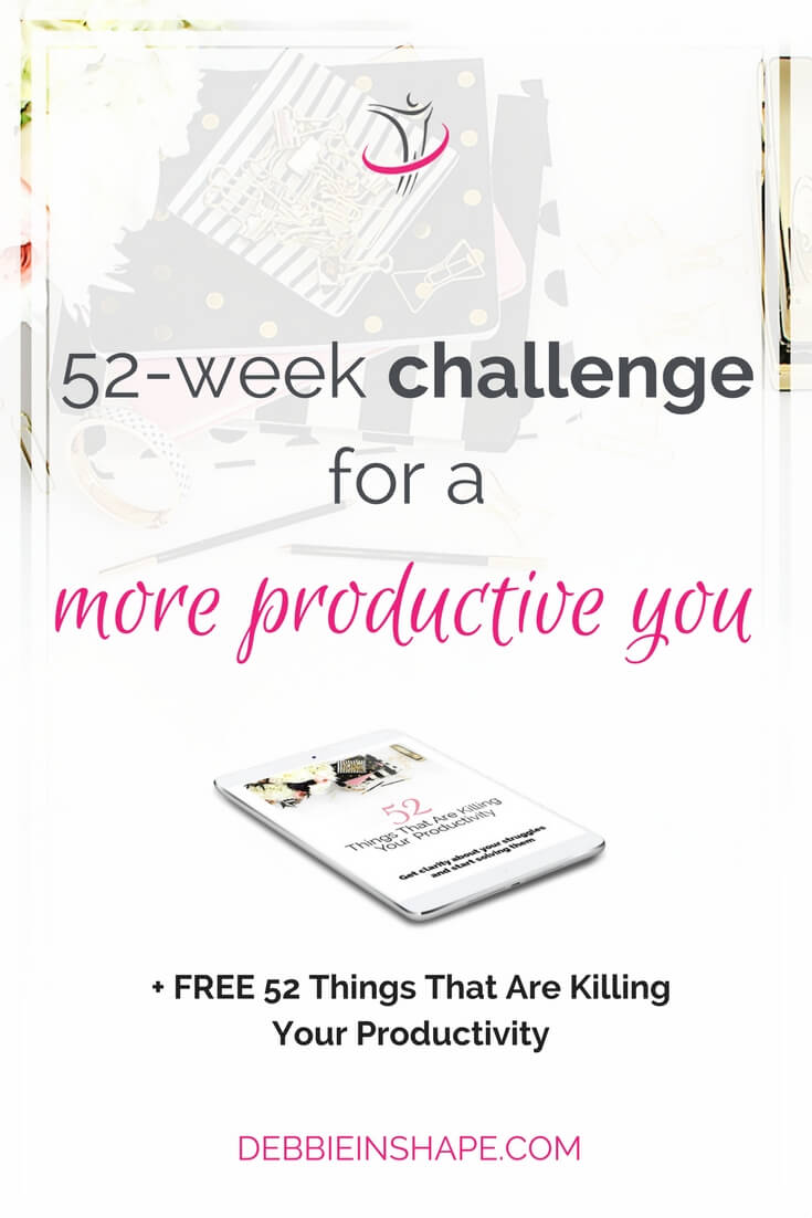Join the 52-week productive challenge 2017 and learn how to achieve your goals with Mindful Planning in the new year and beyond.