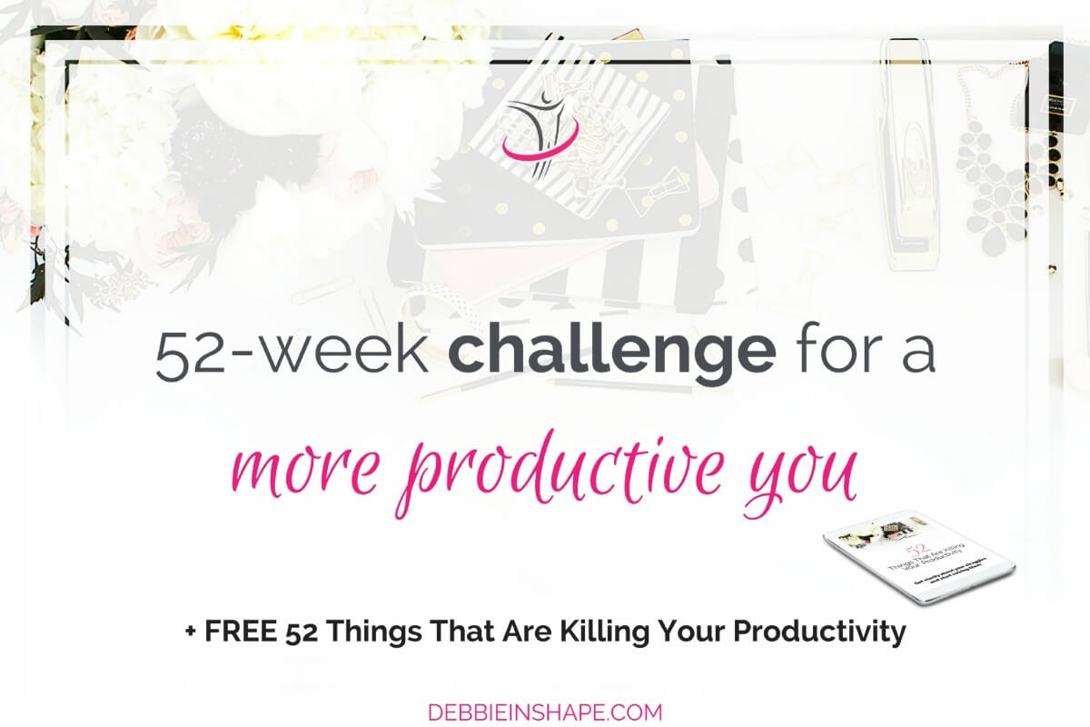 52-Week Challenge For A More Productive You
