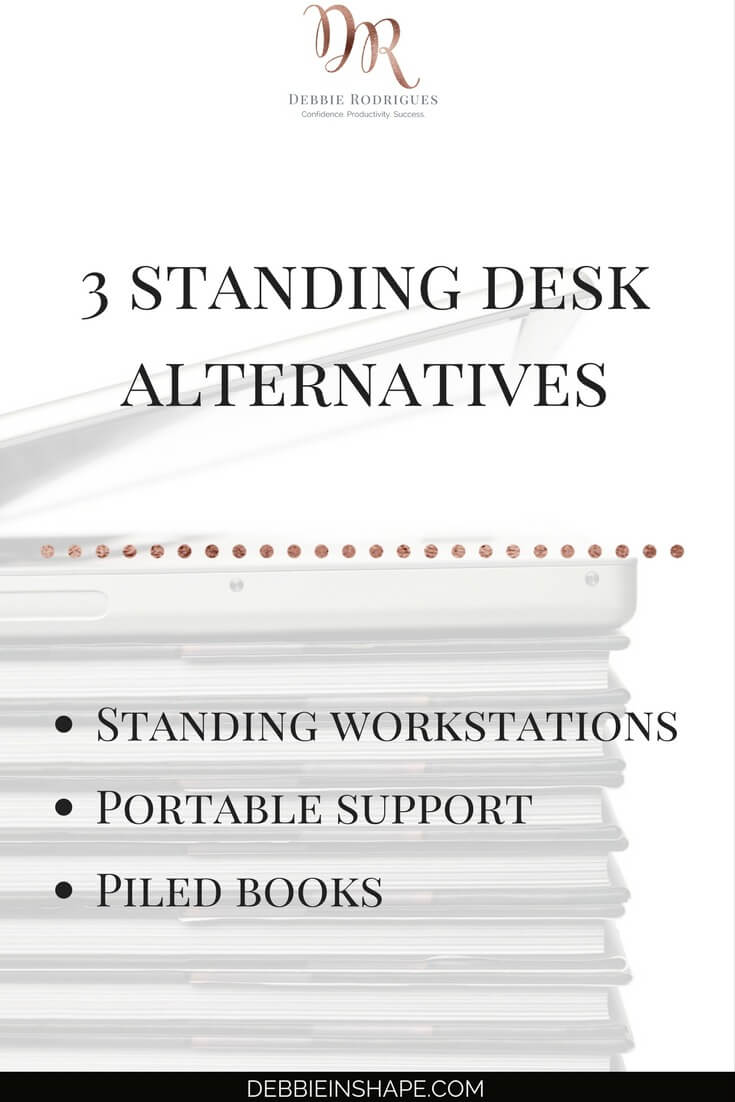 How to stand up more on a budget. Discover how you can limit the amount of time you spend sitting with affordable options. Improve your health and efficiency one day at a time with these alternatives. Learn more about the benefits of ditching the chair by joining the 52-Week Challenge For A More Productive You today. #productivity #confidence #success #health #lifestyle