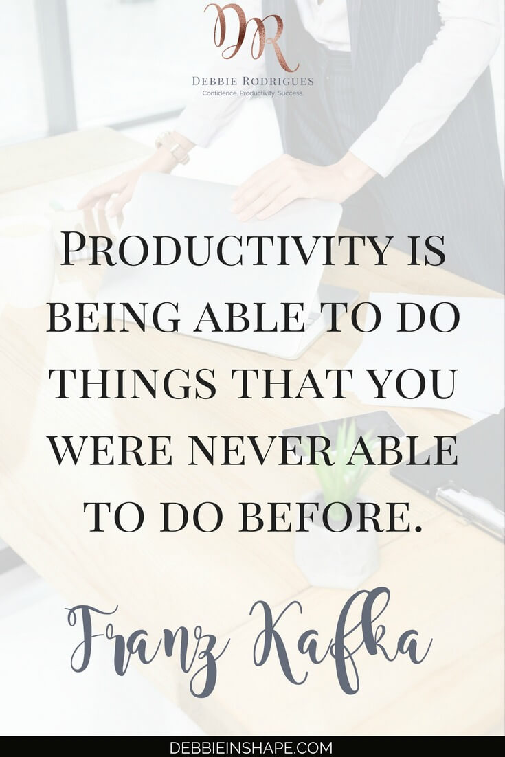 If you want to do more during the day, it's time to stand up. Discover the benefits of leaving the chair aside to increase your efficiency. Learn more about standing desk alternatives and find out other not-so-obvious productivity killers by joining our challenge today. #productivity #confidence #success #health #lifestyle #quote