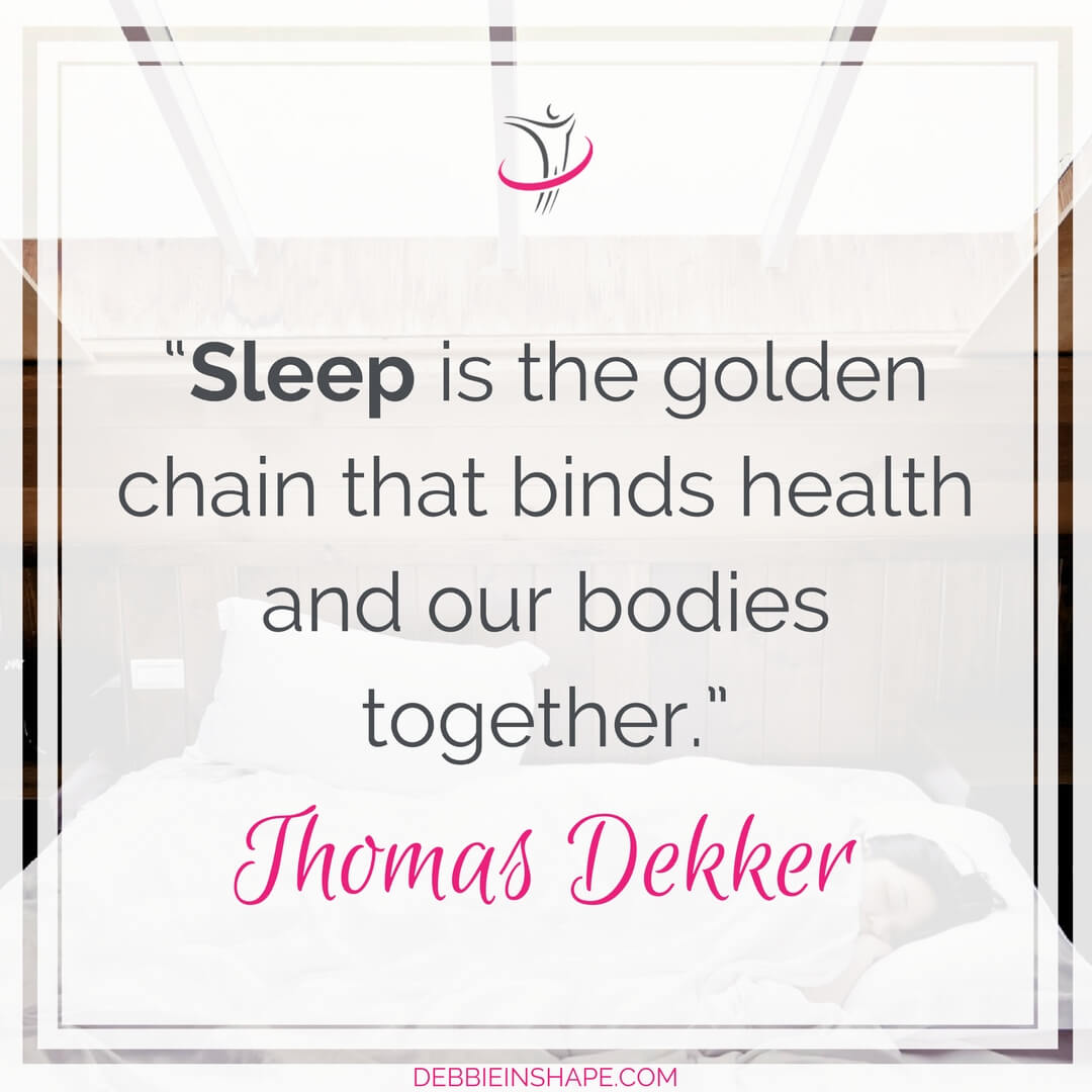 """Sleep is the golden chain that binds health and our bodies together."" - Thomas Dekker"