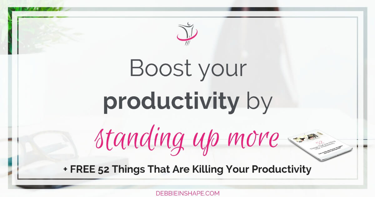 Standing up more is beneficial to productivity. Discover why and how you can adhere it to without spending money with fancy workstations.