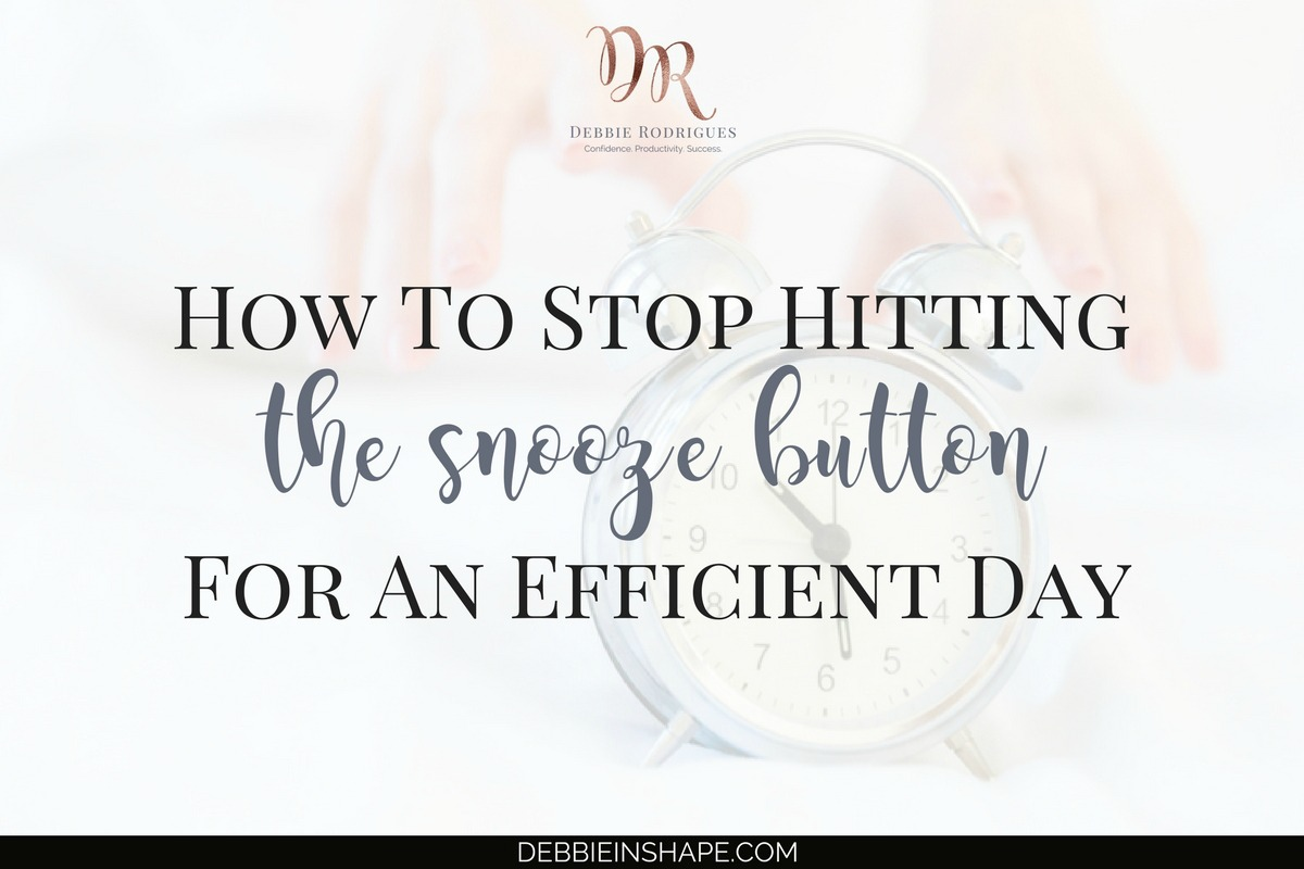 How To Stop Hitting The Snooze Button For An Efficient Day4 min read