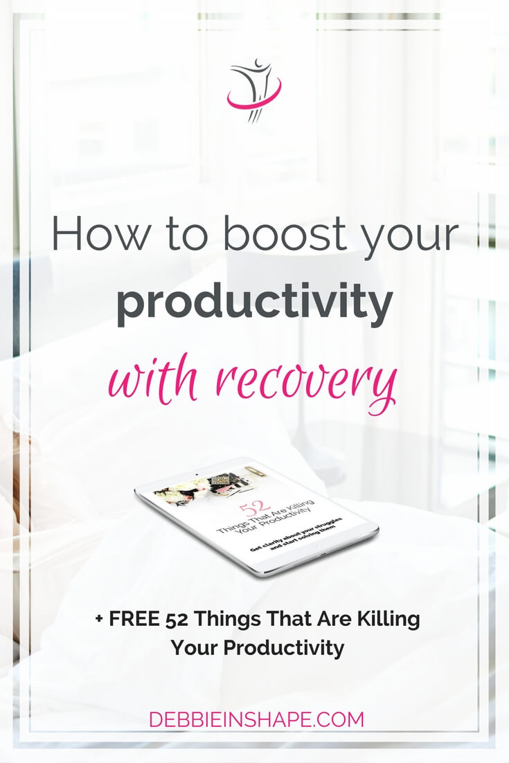 You can and should boost your productivity with recovery. This round-up has all the tips that you need to get more done without stress. Read more on the blog.